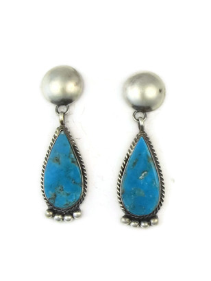 Kingman Turquoise Earrings by Selena Warner