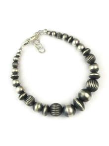 Silver Bead Bracelet (BR5568)