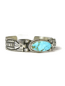 Turquoise Mountain Thunderbird Bracelet by Andy Cadman