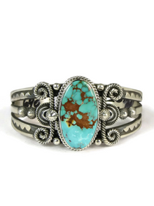 Pilot Mountain Turquoise Bracelet by Derrick Gordon