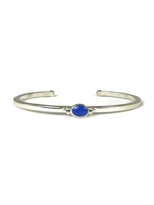 Dainty Lapis Bracelet