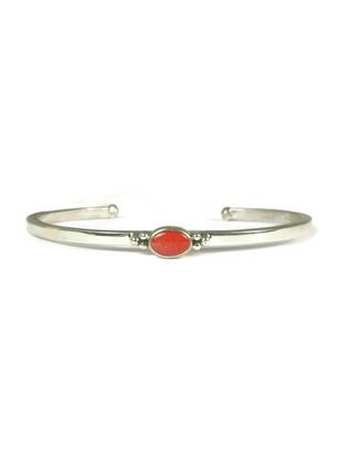 Dainty Coral Bracelet