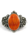 Orange Spiny Oyster Shell Bracelet by Derrick Gordon