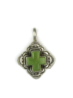 Mojave Turquoise Cross Pendant by Elgin Tom
