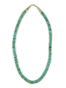 Turquoise Bead Necklace 18""