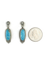Kingman Turquoise Earrings by Shirley Henry (ER3632)
