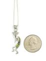 Gaspeite, Jet & Opal Inlay Kokopelli Pendant