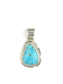 Turquoise Mountain Pendant by Jake Samson