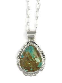 Manassa Turquoise Pendant by John Nelson