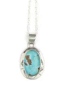 Royston Turquoise Pendant by Phillip Sanchez (PD4919)