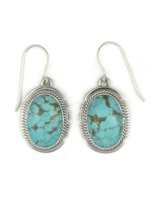 Number 8 Turquoise Earrings by Larson Lee