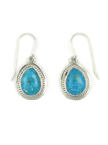 Kingman Turquoise Earrings by Jake Sampson (ER3666)