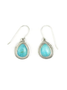 Turquoise Mountain Earrings by Jake Samson