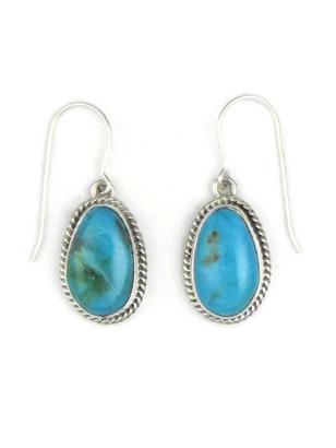 Blue Ridge Turquoise Earrings by Jake Samson