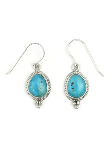 Blue Ridge Turquoise Earrings by Lucy Valencia