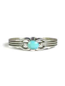 Kingman Turquoise Bracelet by Carol Begay