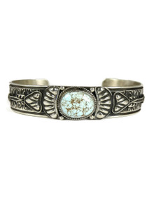 Number 8 Turquoise Bracelet by Tsosie White