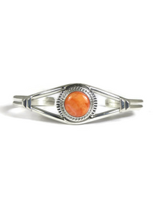 Orange Spiny Oyster Shell Bracelet by Larson Lee