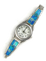Blue Opal Inlay Watch