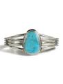 Kingman Turquoise Bracelet by Kim Yazzie (BR5675)
