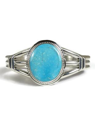 Kingman Turquoise Bracelet by Larson Lee