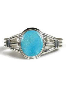 Kingman Turquoise Bracelet by Larson Lee