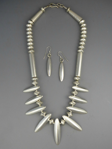 Sterling Silver Necklace Set by Mike Thompson