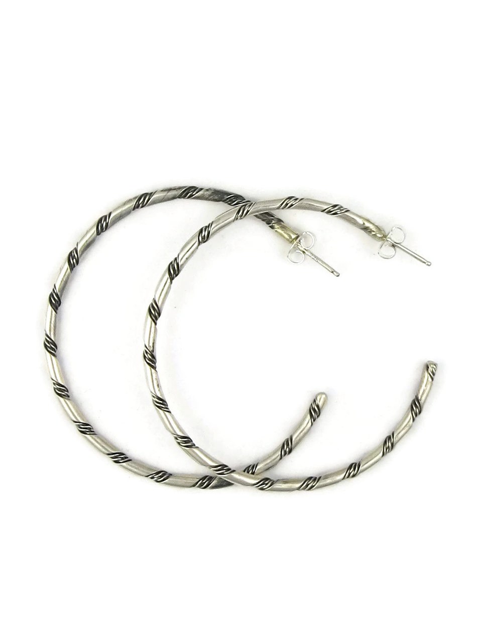 bands onlinestore hoop earrings twisted jewellery silver