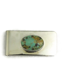 Pilot Mountain Turquoise Money Clip