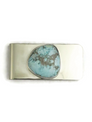 Dry Creek Turquoise Money Clip