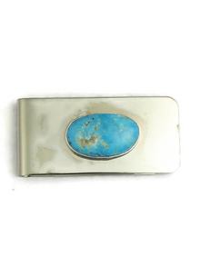 Turquoise Mountain Money Clip