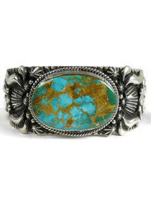 Royston Turquoise Bracelet by Darryl Becenti