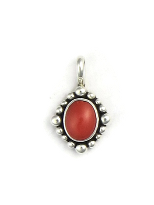 hook tali coral rs proddetail silver pendant pagadam at red double