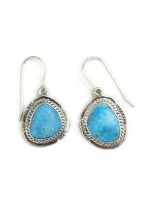 Kingman Turquoise Earrings by Jake Samson
