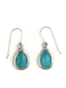 Turquoise Mountain Earrings by Berna Francisco