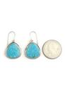 Kingman Turquoise Earrings by Lyle Piaso