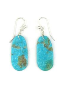 Turquoise Slab Earrings (ER3819)