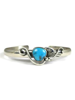 Kingman Turquoise Bracelet by Les Baker Jewelry (BR6013)
