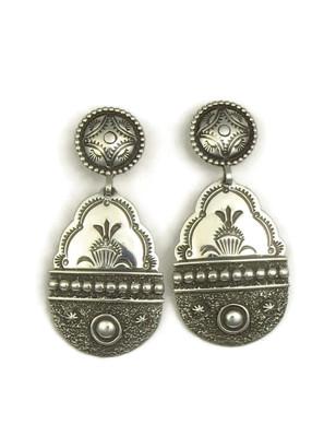 Handmade Silver Earrings by Fritson Toledo