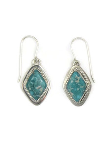 White Water Turquoise Earring by Burt Francisco
