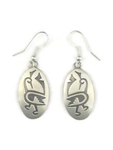 Silver Bird Earrings by Gene Natan