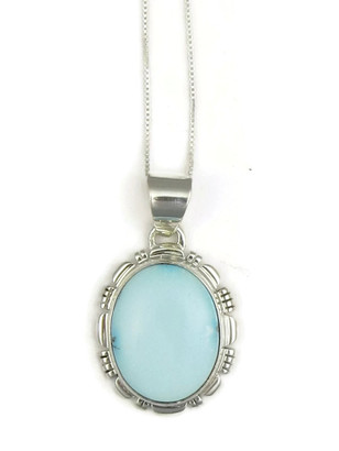 Dry Creek Turquoise Pendant by Lydia Yazzie (PD3804)