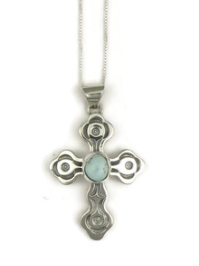 Dry Creek Turquoise Cross Pendant (PD3816)