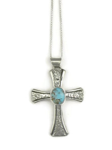 Dry Creek Turquoise Cross Pendant (3818)