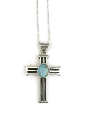 Dry Creek Turquoise Cross Pendant (PD3820)