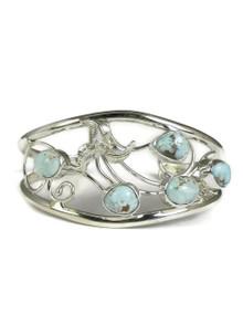 Dry Creek Turquoise Flower Bracelet (BR4143)