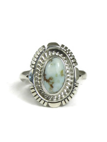 Dry Creek Turquoise Ring Size 8 (RG3645)