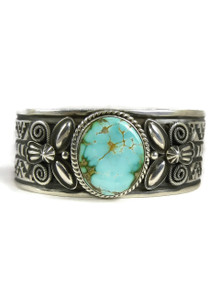 Royston Turquoise Cuff Bracelet by Andy Cadman