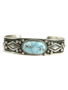Natural Dry Creek Turquoise Bracelet by Happy Piaso (BR4736)