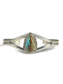Royston Boulder Turquoise Bracelet by Lucy Valencia